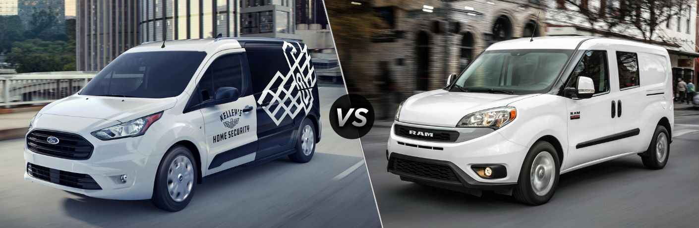 2020 Ford Transit Connect vs 2020 Ram ProMaster City