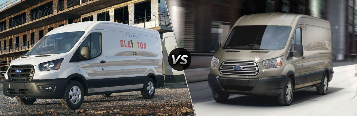 2020 Ford Transit vs 2019 Ford Transit