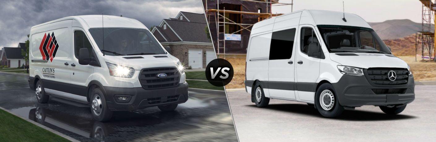 2020 Ford Transit vs 2020 Mercedes-Benz Sprinter