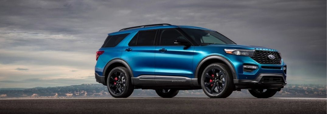 2020 Ford Explorer ST on pavement