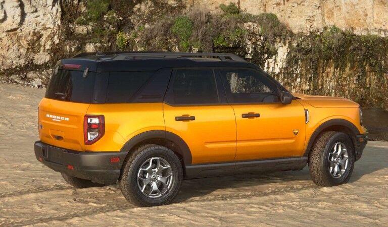 2021 Ford Bronco Sport Badlands Trim Level