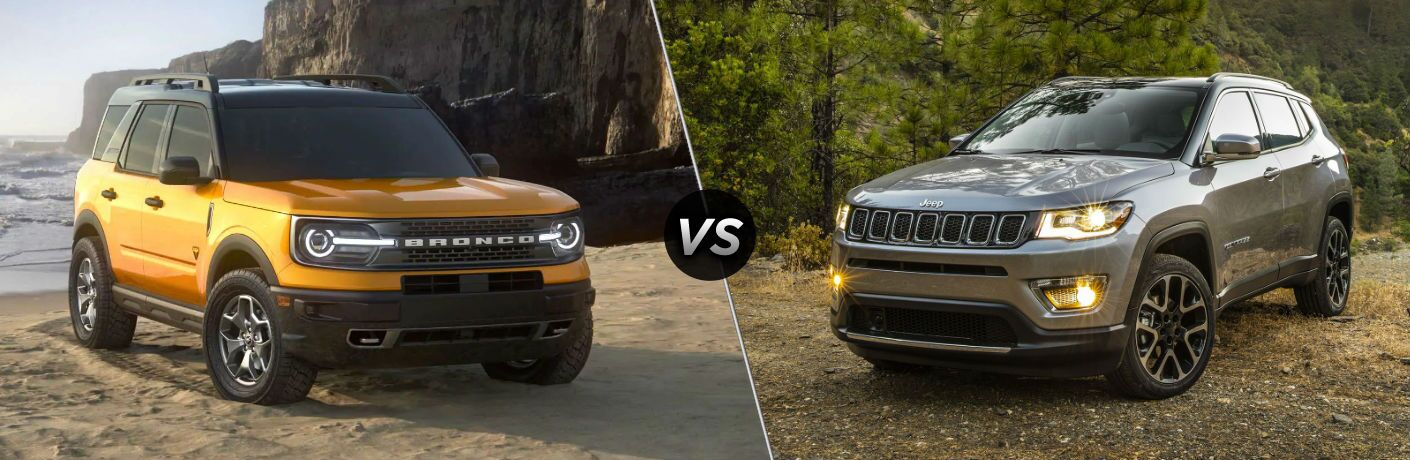 2021 Ford Bronco Sport vs 2020 Jeep Compass