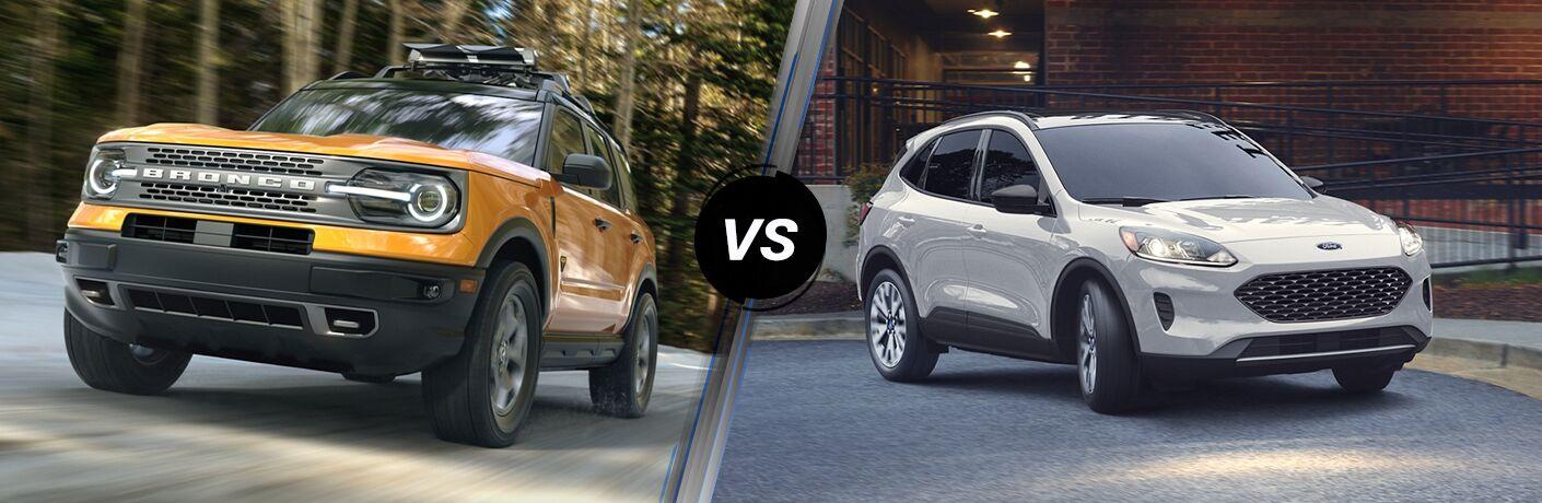 2021 Ford Bronco Sport vs 2020 Ford Escape