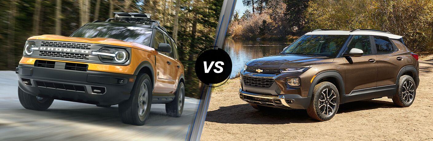 2021 Ford Bronco Sport vs 2021 Chevy Trailblazer