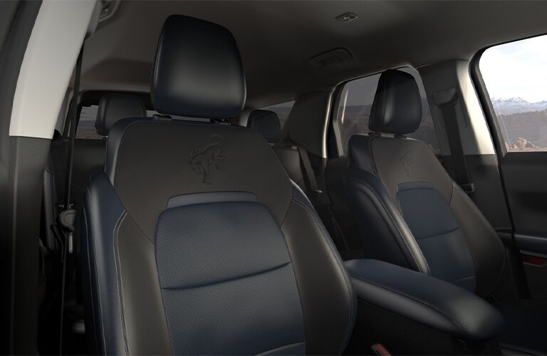 2021 Ford Bronco Sport front seats