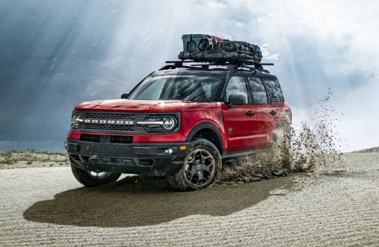 2021 Ford Bronco Sport in desert