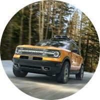 2021 Ford Bronco Sport on road