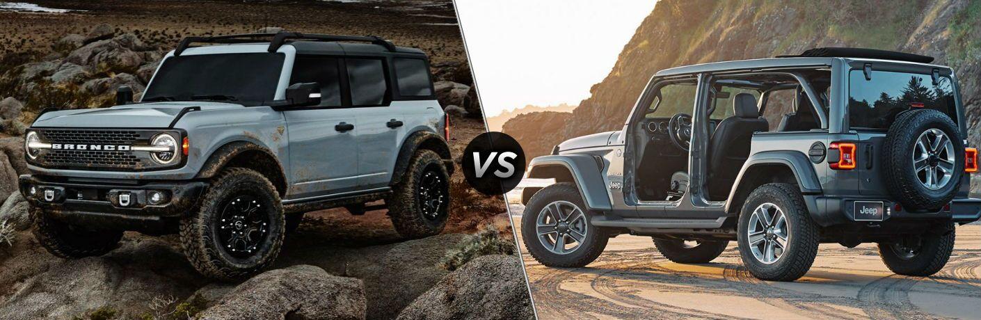2021 Ford Bronco vs 2020 Jeep Wrangler