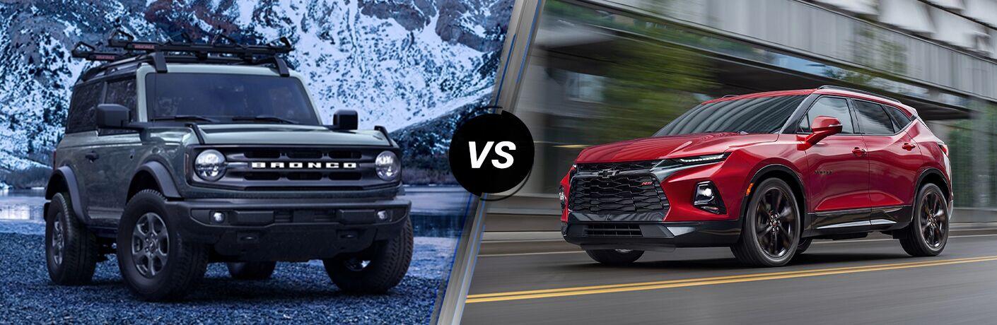 2021 Ford Bronco vs 2021 Chevy Blazer