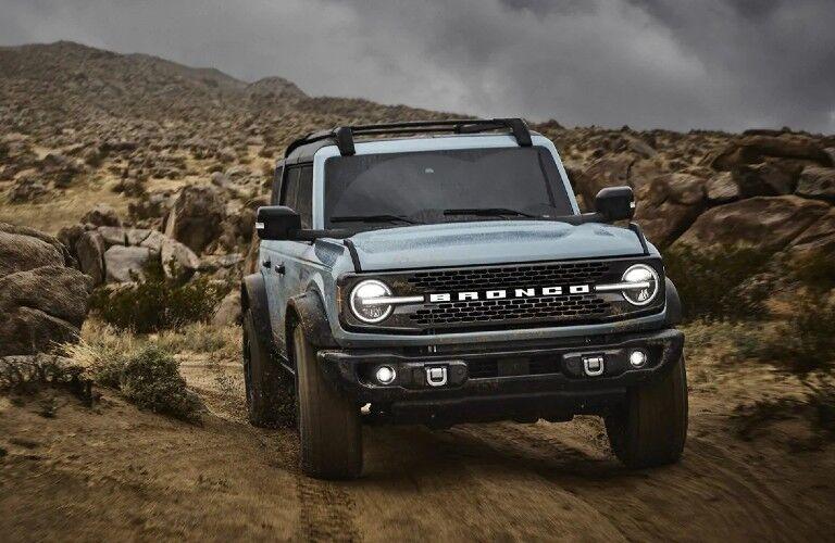 2021 Ford Bronco on desert trail