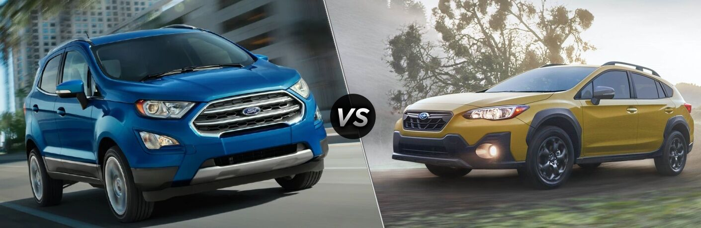 2021 Ford EcoSport vs 2021 Subaru Crosstrek