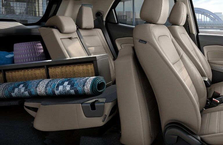 2021 Ford EcoSport interior front and rear seats