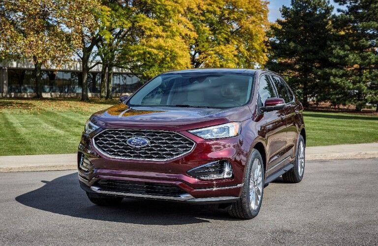 2021 Ford Edge exterior design - front fascia