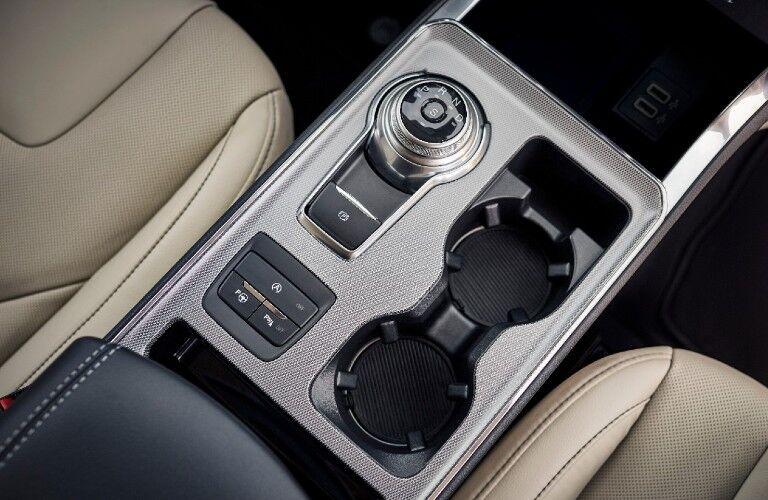 2021 Ford Edge center console controls