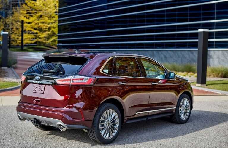 2021 Ford Edge exterior design - liftgate