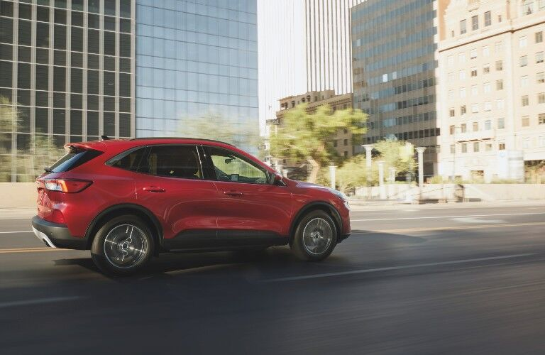2021 Ford Escape on city street