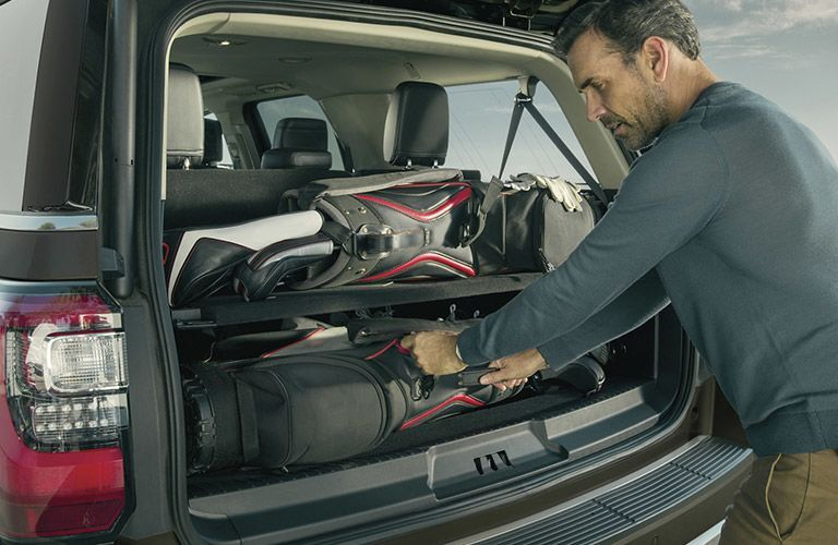 2021 Ford Expedition rear cargo area