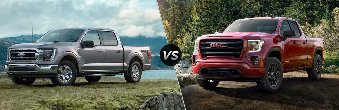 2021 Ford F-150 vs 2020 GMC Sierra