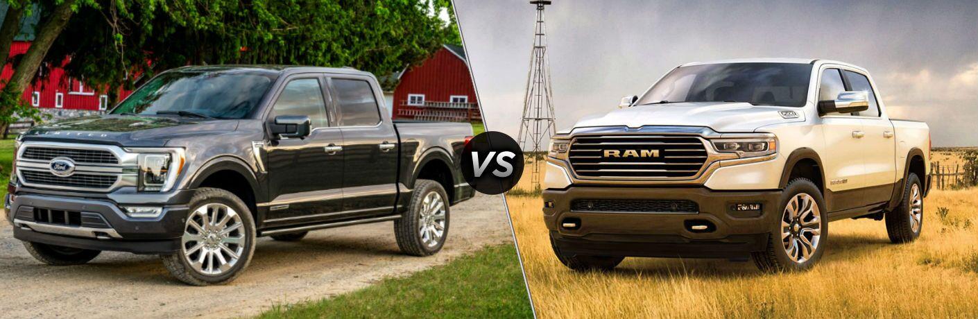 2021 Ford F-150 vs 2020 Ram 1500