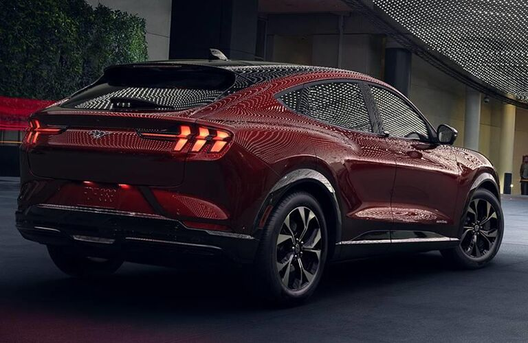 2021 Ford Mustang Mach-E exterior styling