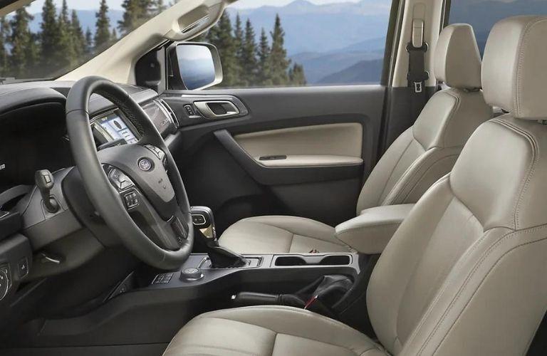 2021 Ford Ranger interior image