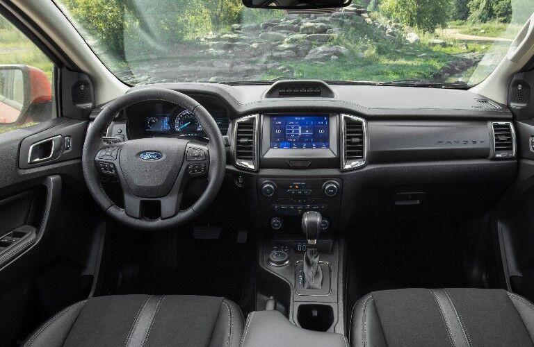 2021 Ford Ranger Tremor dashboard