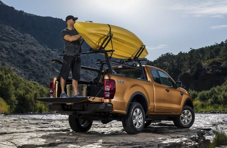2021 Ford Ranger by river