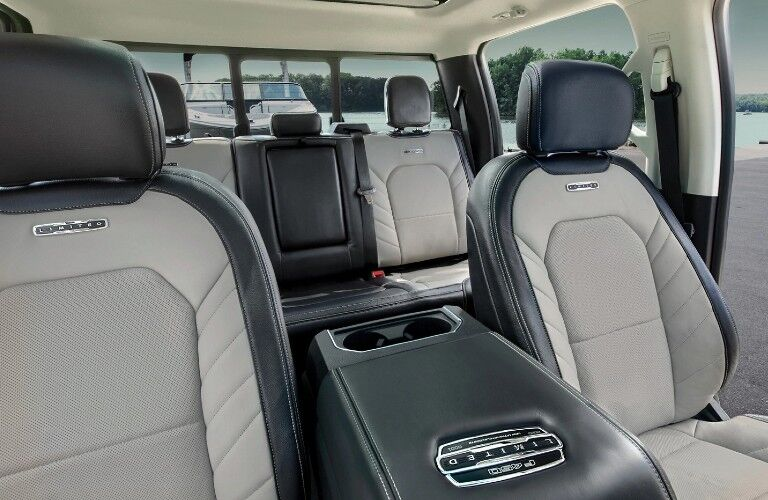 2021 Ford Super Duty front and rear seats