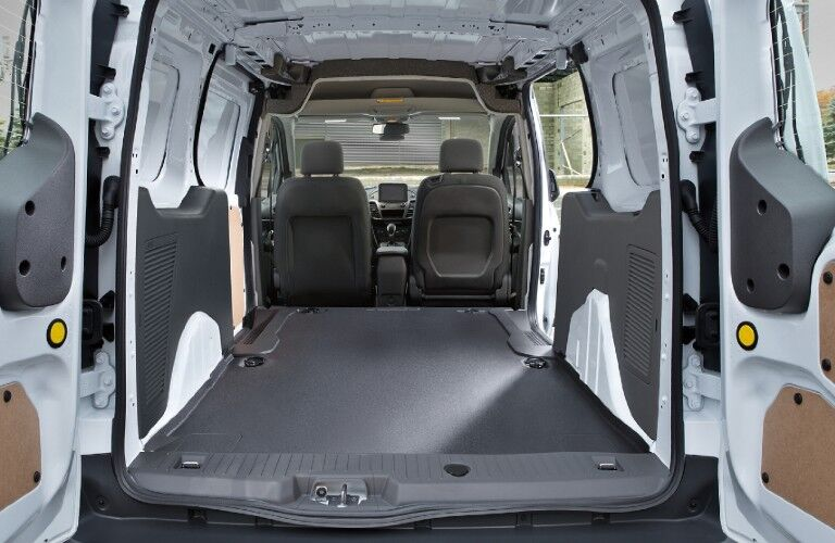 2021 Ford Transit Connect Cargo Van rear cargo area