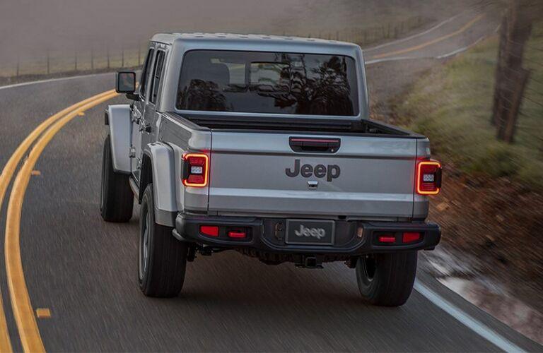 2021 Jeep Gladiator on road