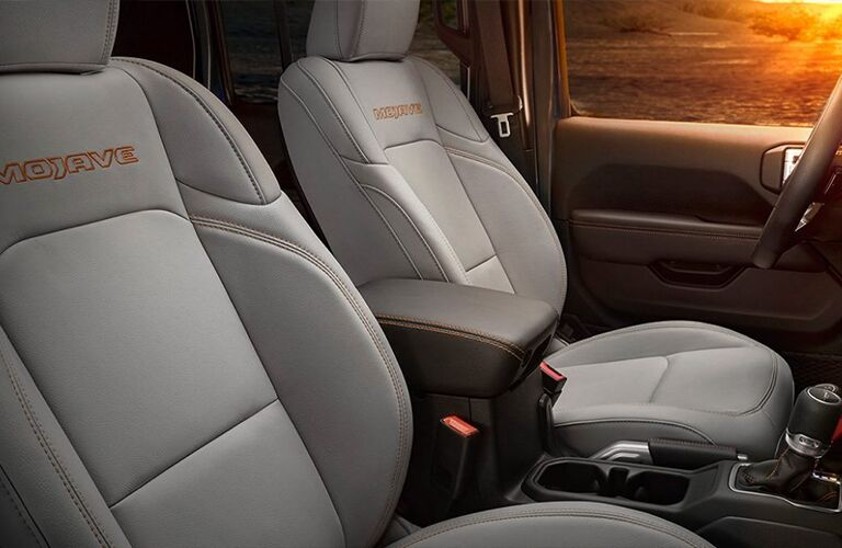 2021 Jeep Gladiator front seats