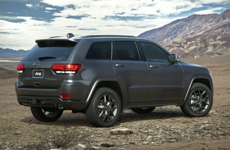 2021 Jeep Grand Cherokee on desert terrain