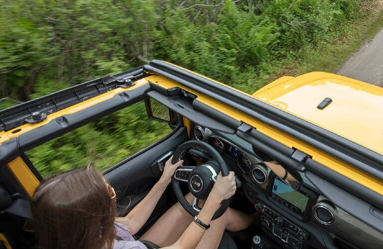 2021 Jeep Wrangler removable top