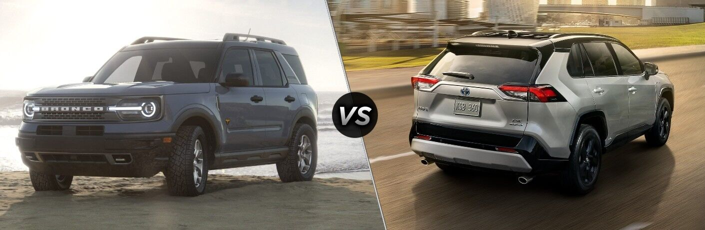 2021 Ford Bronco Sport vs 2021 Toyota RAV4