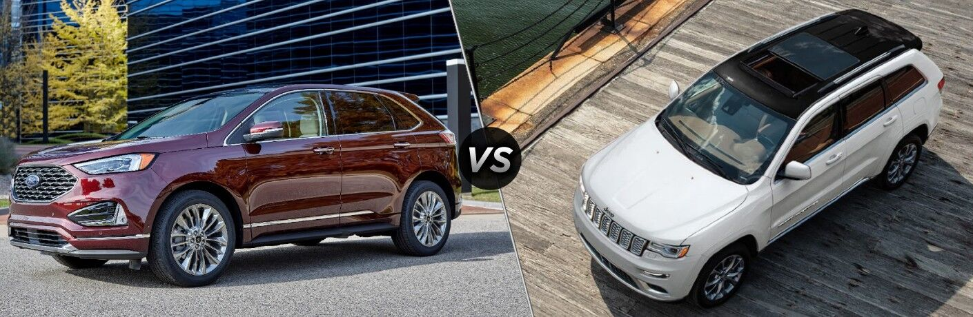 2021 Ford Edge vs 2021 Jeep Grand Cherokee