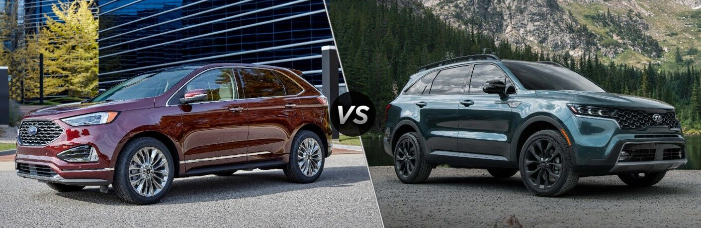 2021 Ford Edge vs 2021 Kia Sorento