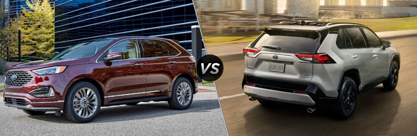 2021 Ford Edge vs 2021 Toyota RAV4