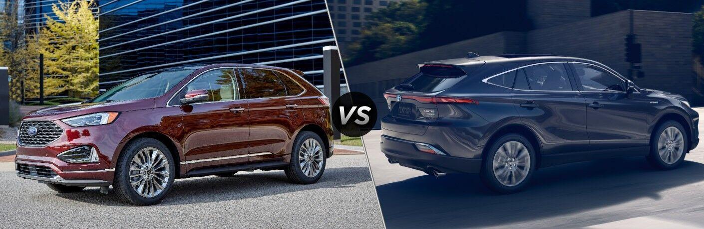 2021 Ford Edge vs 2021 Toyota Venza