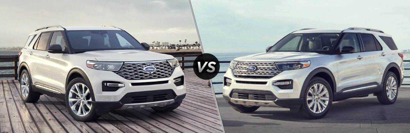 2021 Ford Explorer vs 2020 Ford Explorer