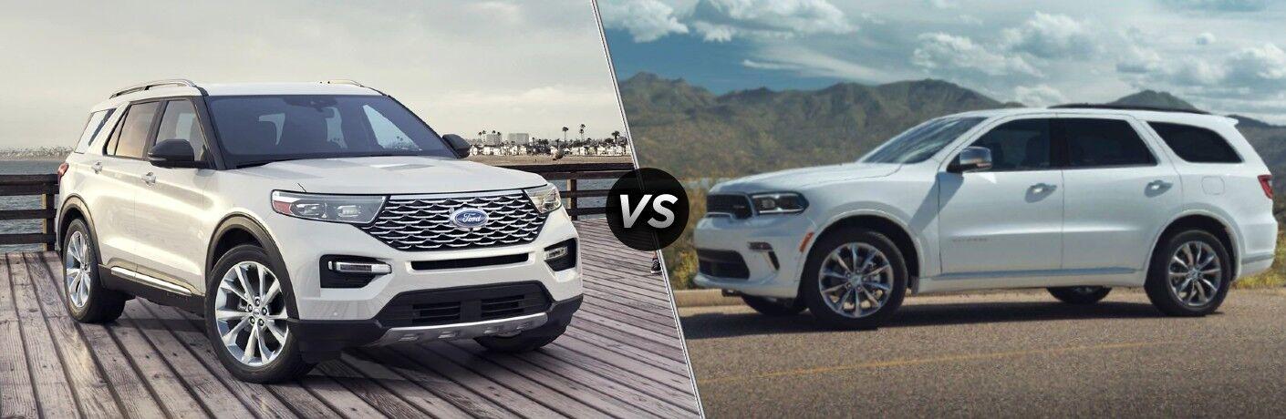 2021 Ford Explorer vs 2021 Dodge Durango