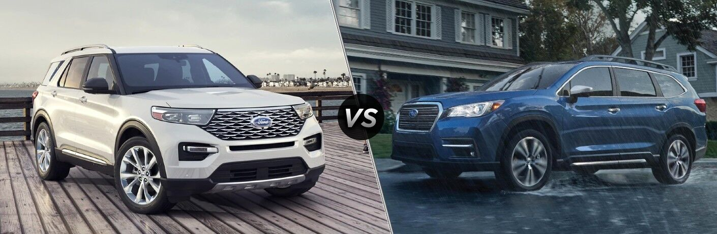 2021 Ford Explorer vs 2021 Subaru Ascent