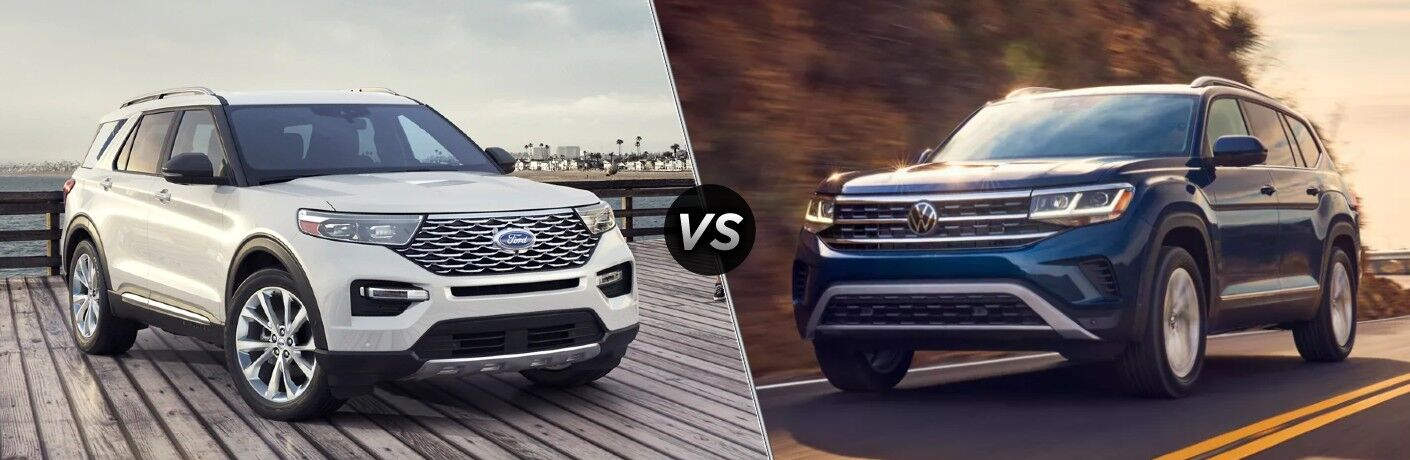 2021 Ford Explorer vs 2021 Volkswagen Atlas
