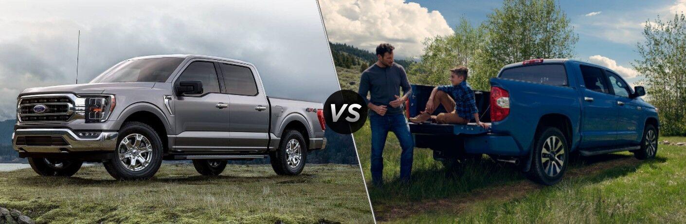 2021 Ford F-150 vs 2021 Toyota Tundra