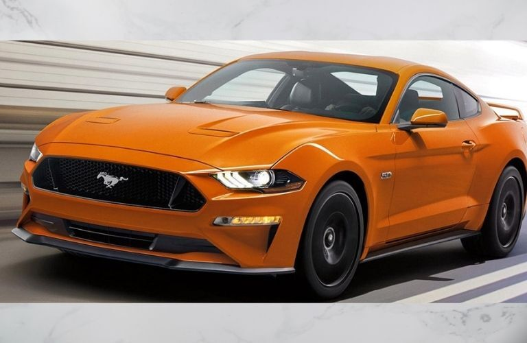 2021 Ford Mustang front view