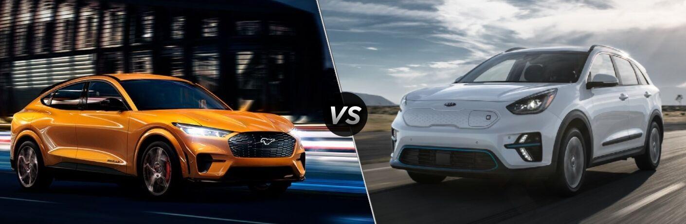 2021 Ford Mustang Mach-E vs 2021 Kia Niro EV