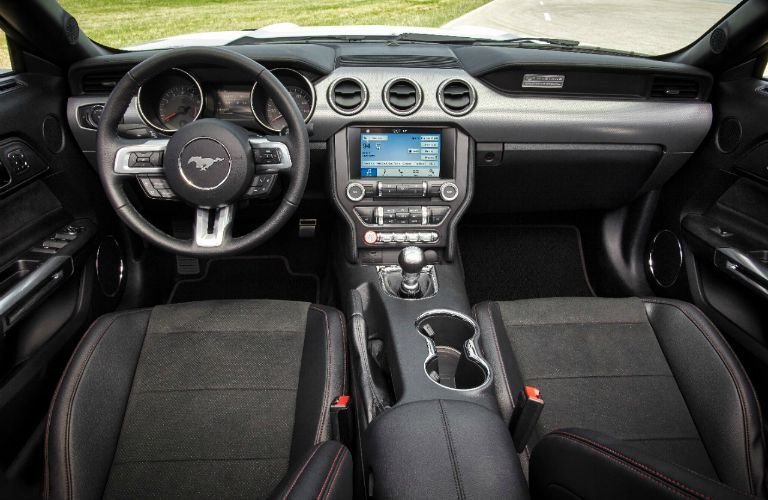 The interior of the 2016 Ford Mustang Atlanta GA will be high-tech and fun.