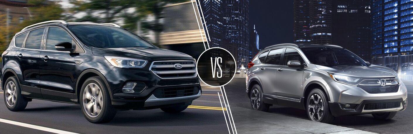 2019 Ford Escape vs 2019 Honda CR-V