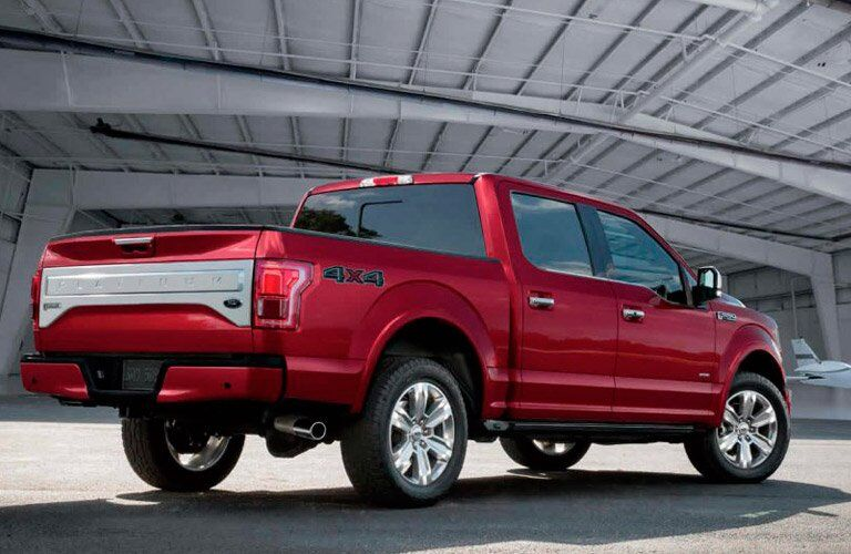 Future Ford F-150 Hybrid rear side exterior