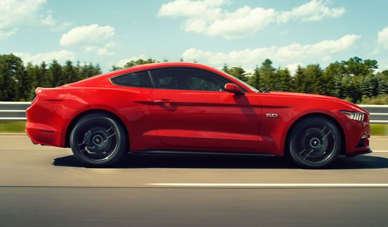 Red is really the only color a Ford Mustang should be