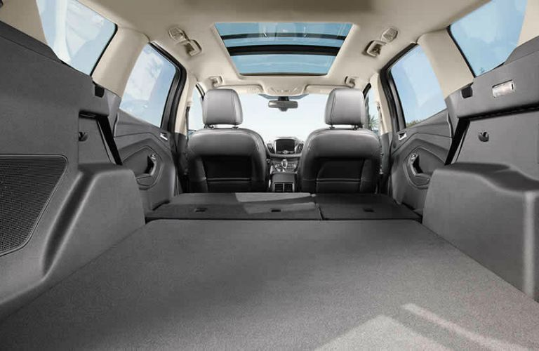 The interior of the 2016 Ford Escape is spacious and versatile.